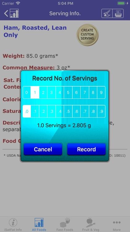 iSatFat screenshot-3