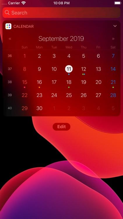 Agenda: Widget+ screenshot-3