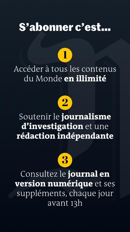 Le Monde, Actualités en direct screenshot-6