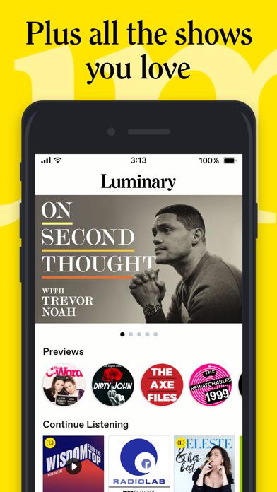 Luminary - Premium Podcast App Screenshot