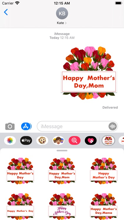 Mother's Day 365 Stickers screenshot-0