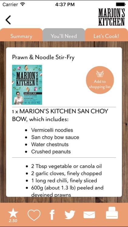 Marion's Kitchen Recipes screenshot-3