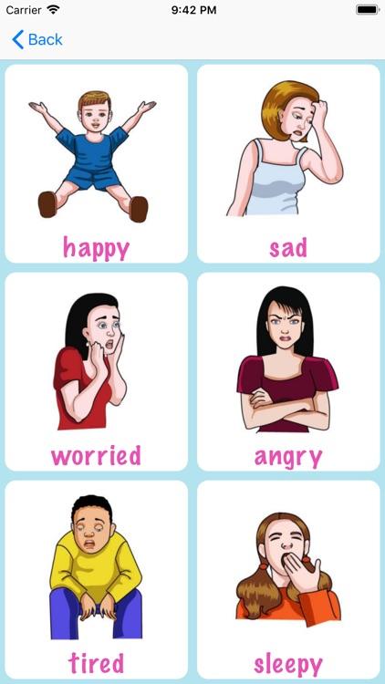 Feelings & Emotions Vocabulary screenshot-3