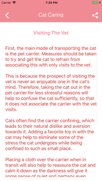 KittyCare: App for Cat Caring screenshot #3