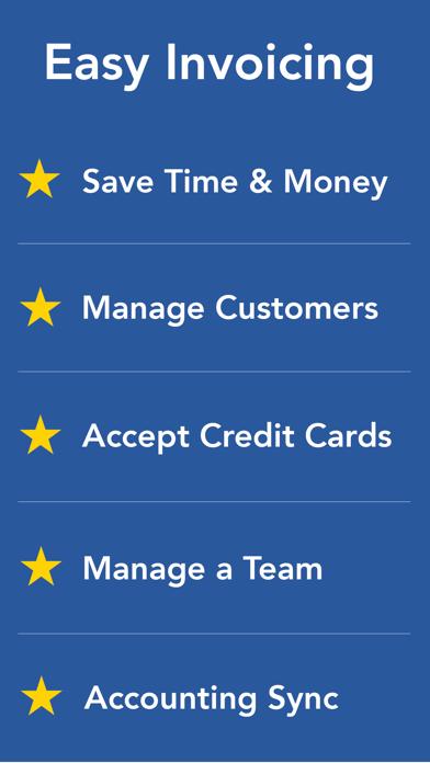 Invoice ASAP, Invoicing Screenshot