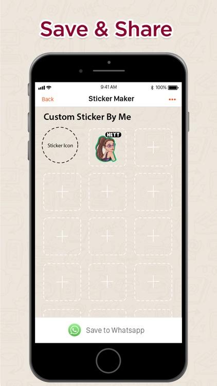Sticker Maker+ Create Stickers screenshot-5
