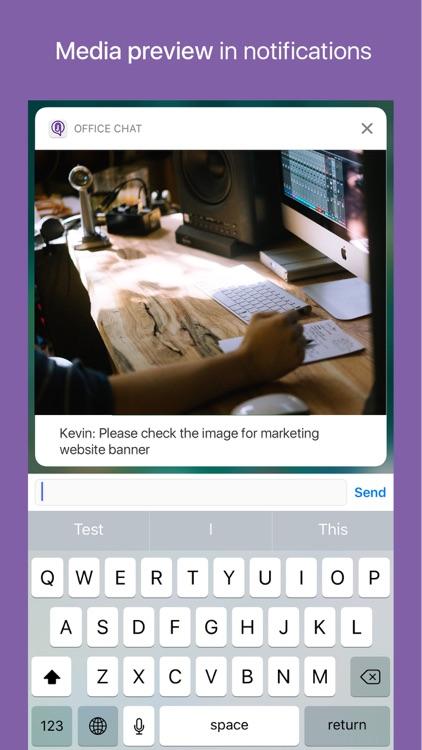 Office Chat, Work Messaging screenshot-6
