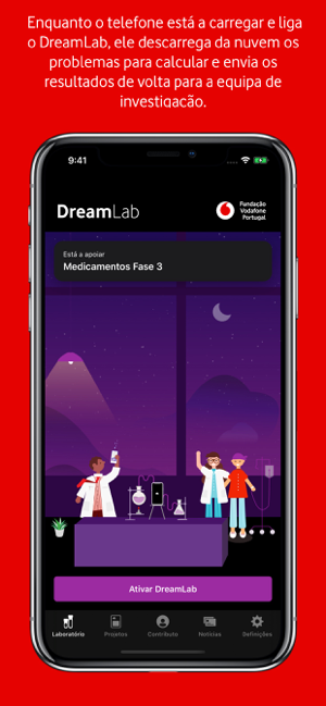 ‎DreamLab Screenshot