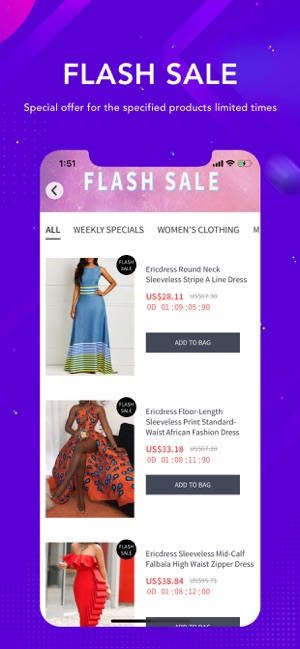 0a260275a8853f Ericdress Fashion Clothes Shop on the App Store