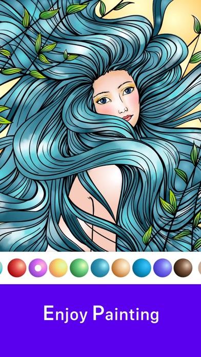 inColor - Art Coloring Space screenshot 2