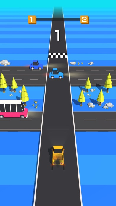 Traffic Run! screenshot 1