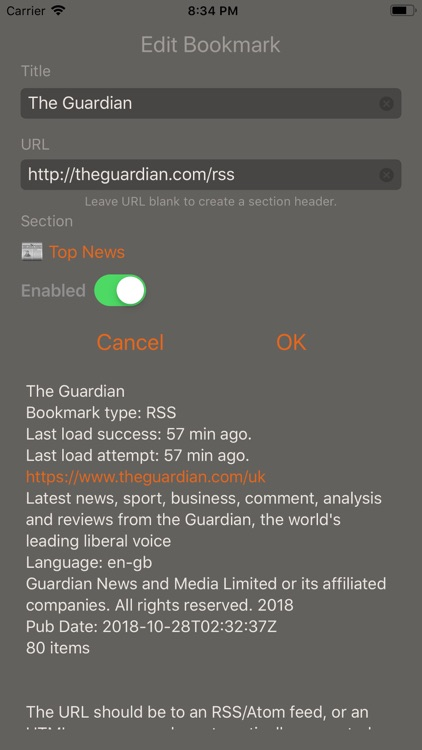 Speak News - RSS news reader screenshot-7