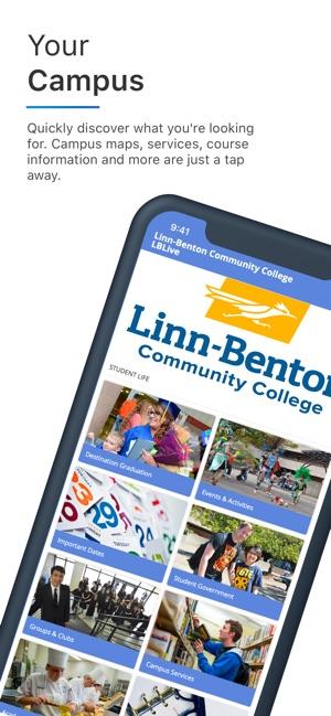 linn benton community college campus map Linn Benton Community College On The App Store linn benton community college campus map