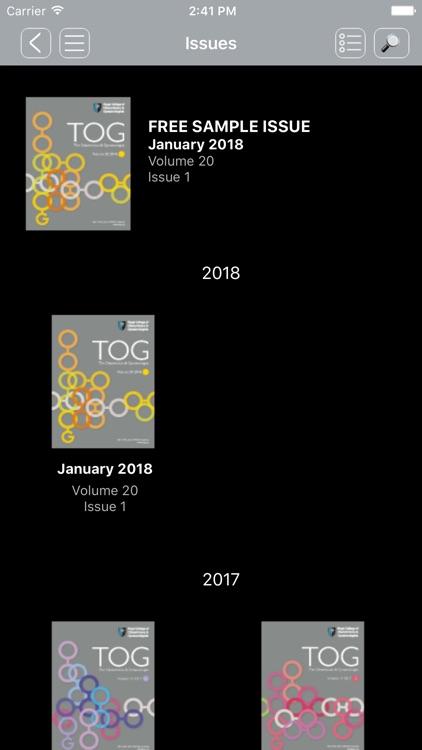 TOG Journal screenshot-3