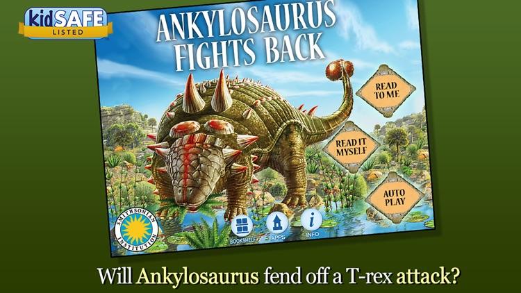 Ankylosaurus Fights Back