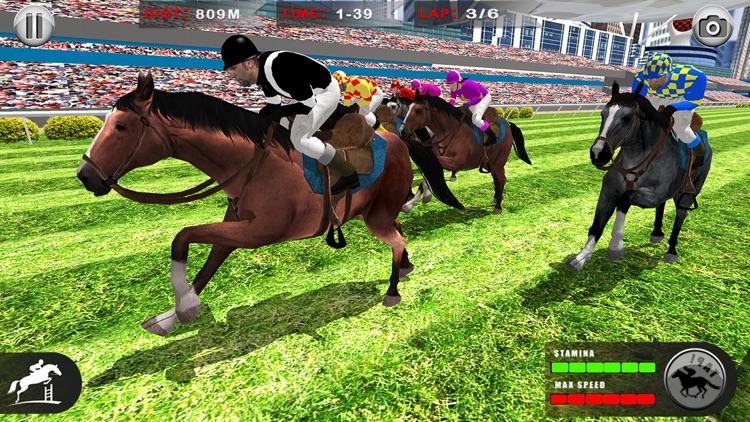 Horse Racing: 3D Riding Games screenshot-5