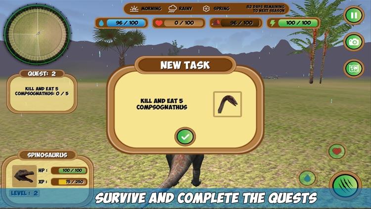 My Spinosaurus Simulator screenshot-4