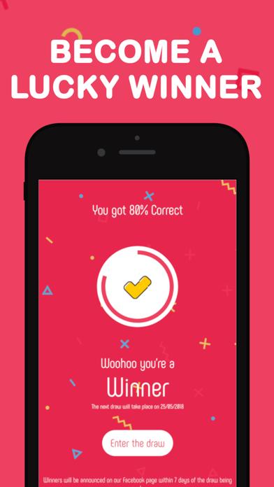 KUIZU - Pub Quiz for Prizes screenshot three
