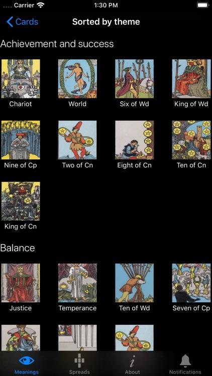 Learn Tarot screenshot-4