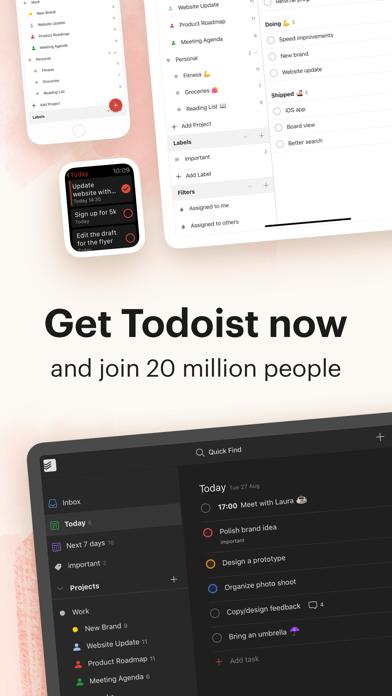 Todoist: To-Do List & Tasks Screenshot