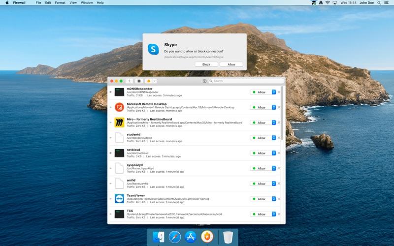 Firewall Screenshot