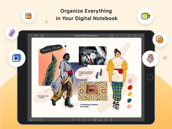 NoteLedge Ultimate - Notebook Screenshots