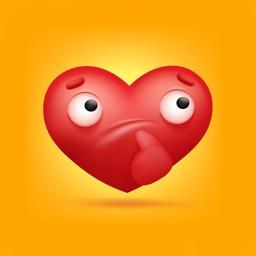 Stickers Love Story Valentine