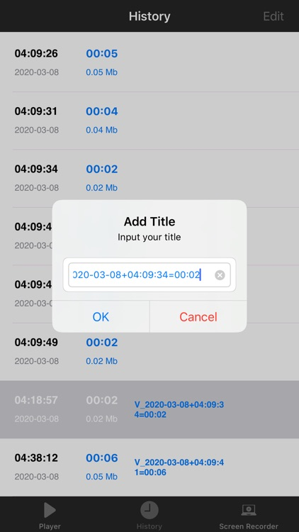 MP3 Voice Recorder ,MP3 player screenshot-4