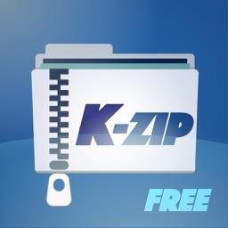 K-Zip Lite: Zip Unzip tool
