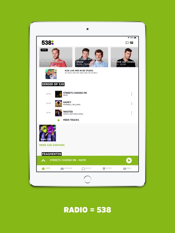 538 iPad app afbeelding 1