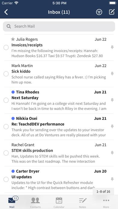 Screenshot #1 pour Fastmail – Email & Calendar