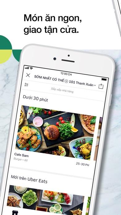 Screenshot for Uber Eats: Ứng dụng đặt món ăn in Viet Nam App Store
