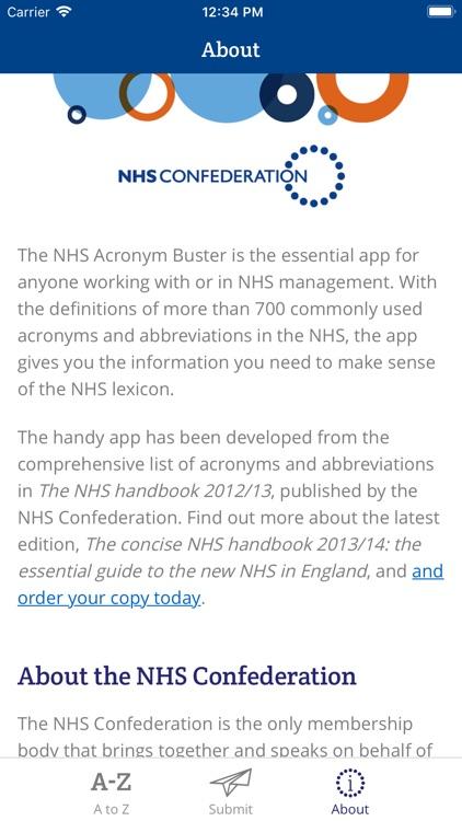 NHS Acronym Buster screenshot-3
