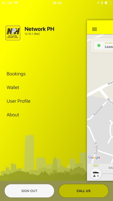 Network Private Hire screenshot one