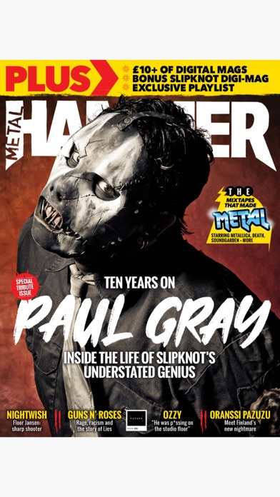Metal Hammer Magazine Screenshot