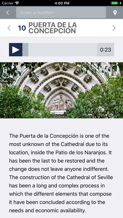 Screenshot for SC audioguide Sev in United States App Store