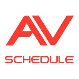 Audio Visual Schedule