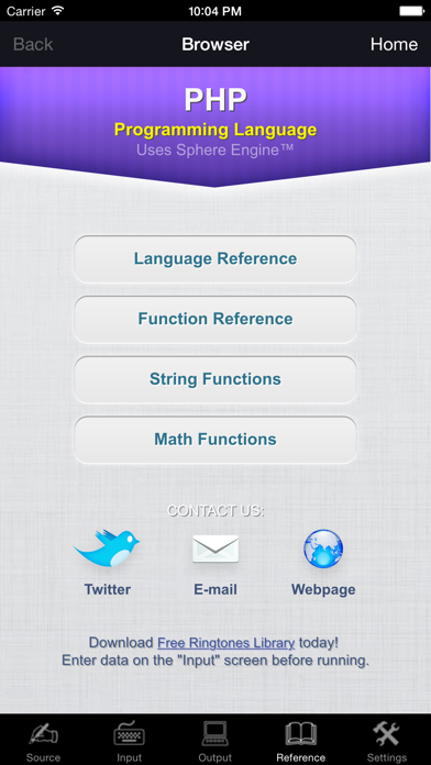 PHP Programming Language screenshot four