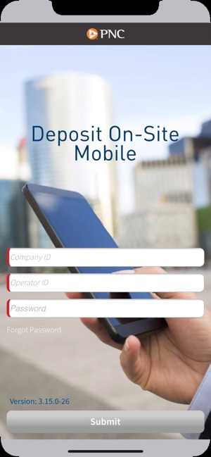 Deposit On-Site on the App Store