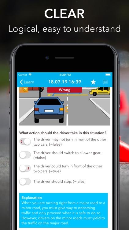 iTheory Driver Theory Test screenshot-4