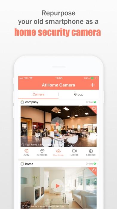 AtHome Camera Pro Security Appのスクリーンショット2