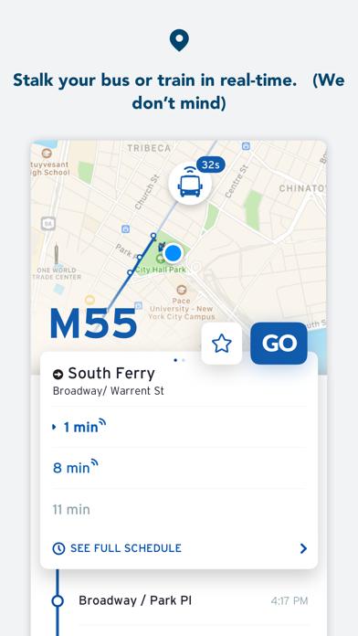 다운로드 Transit • Bus & Subway Times Android 용