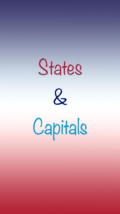 Brainy Skills States Capitals screenshot one