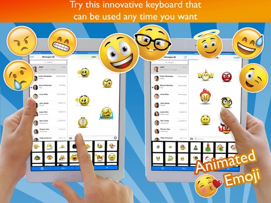 Animated Emoji Keyboard Pro Screenshots