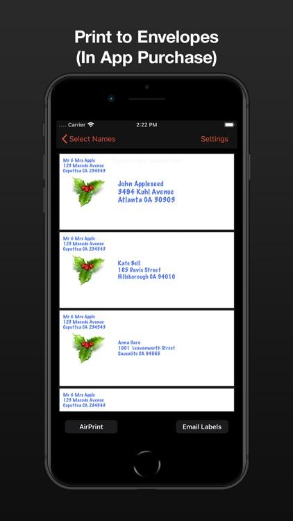 Address Labels for CardLists screenshot-4