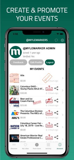 MYLE - Events Curated For You on the App Store