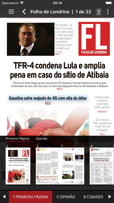 点击获取Folha de Londrina Digital