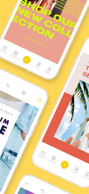 Over Design Flyer Story Maker on the App Store