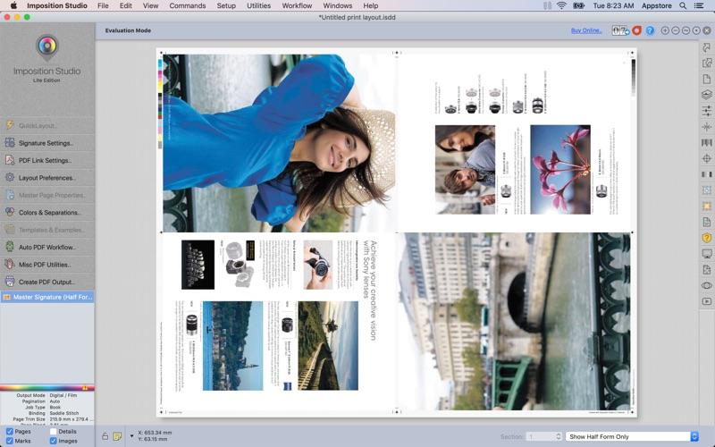 Imposition Studio Lite for Mac