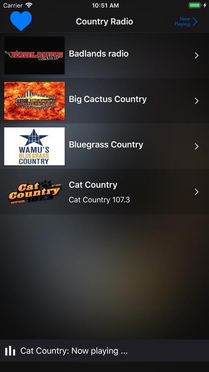 Country Radio Music Stations screenshot-6